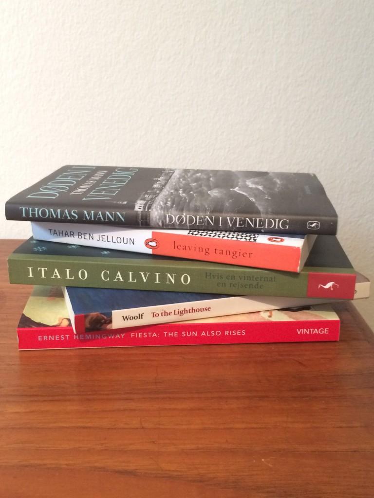 Bud på 5 gode bøger